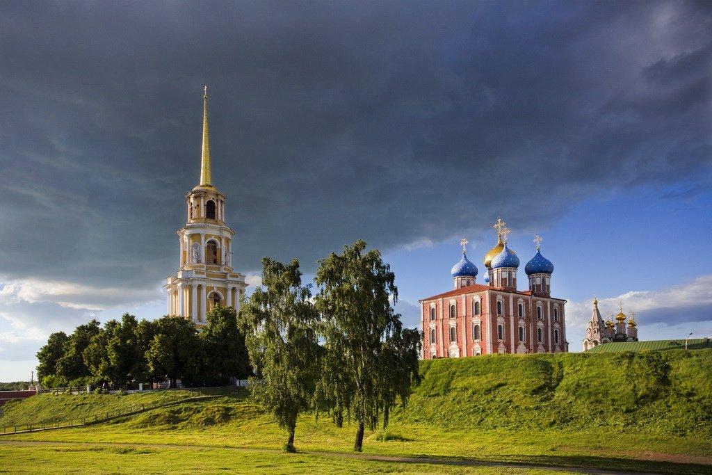 фото рязанского кремля словам, никак