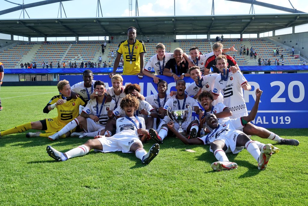 [ACADÉMIE]  🙌🏆  Le Stade Rennais FC est Champion de France U19 - saison 2018-2019 !   --- #AllezRennes - #ToutDonner 💪🔴⚫