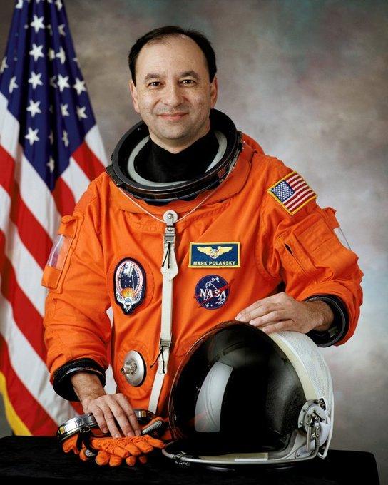 Today s astronaut birthday; Happy birthday to Mark Polansky