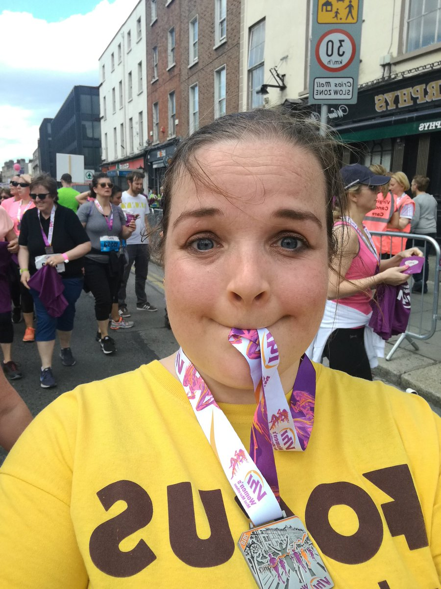 Well done to all who completed the 10k mini marathon today in Dublin! My fighting race was for Focus Ireland. So important to have a home. #floraday2019 #minimarathon #focusireland #Building #constructionworker