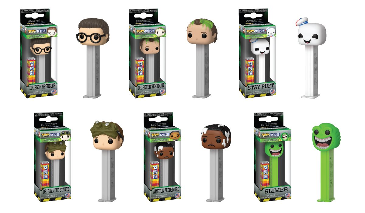 RT & follow @OriginalFunko for a chance to WIN a #Ghostbusters Pop! Pez Prize Pack!! #Ghostbusters35