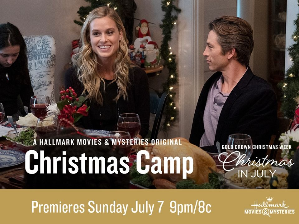 Who is going to #ChristmasCamp?! You better believe we are! We can't wait to cover this movie during our #ChristmasInJuly coverage. We have a lot of fun things planned for July...STAY TUNED!   #hallmarkchristmasmovies #hallmarkchristmasinjuly #hallmarkchristmas