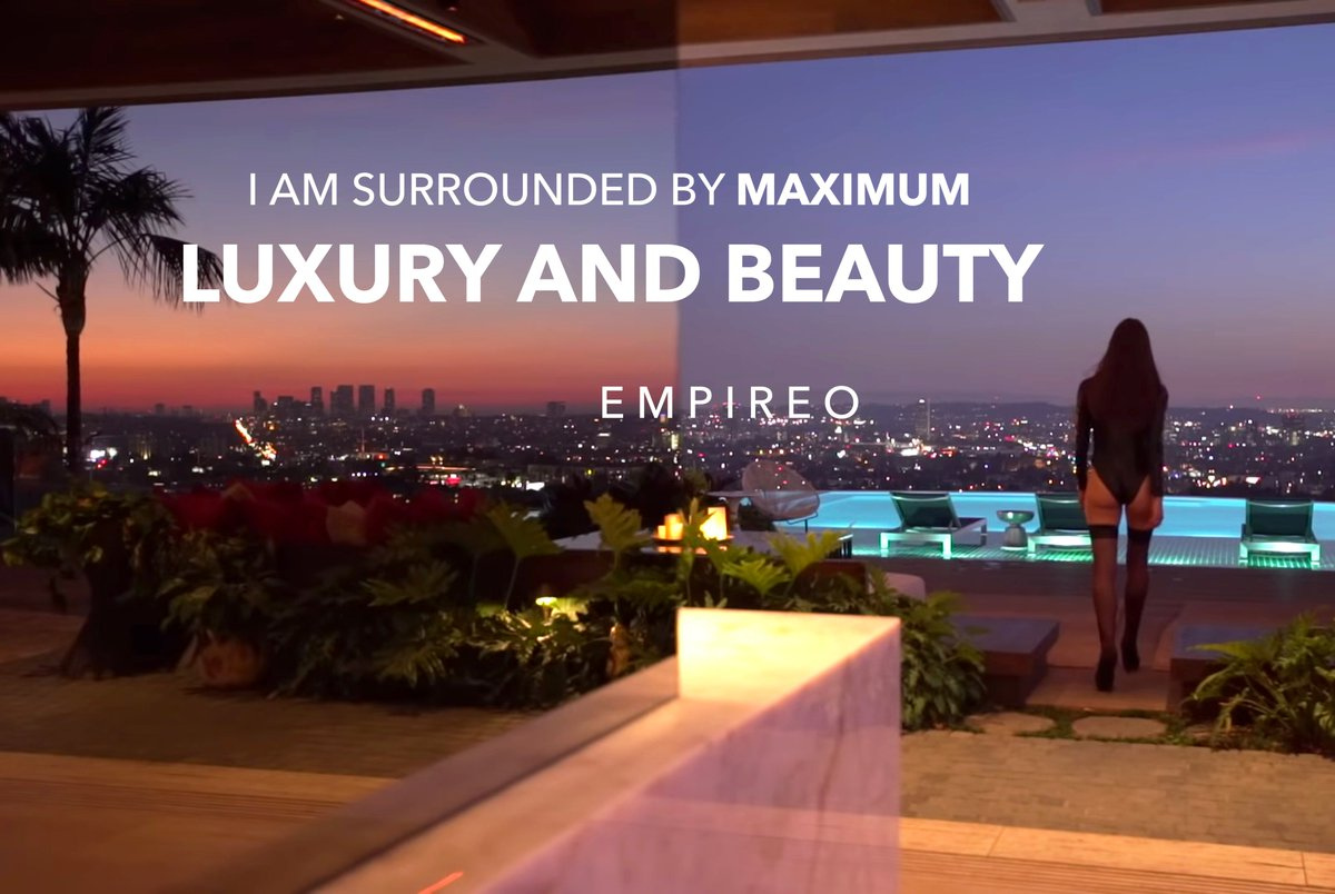 """I am surrounded by #MAXIMUMBEAUTY and #LUXURY  """"QUANTUM LEAP TO MILLIONAIRE""""💰💎 ▶️ I want to know more about the program https://empireoquantumleap.com/  #MILLIONAIREMINDSET #LUXURYLIFE #ENRICHYOURMID"""