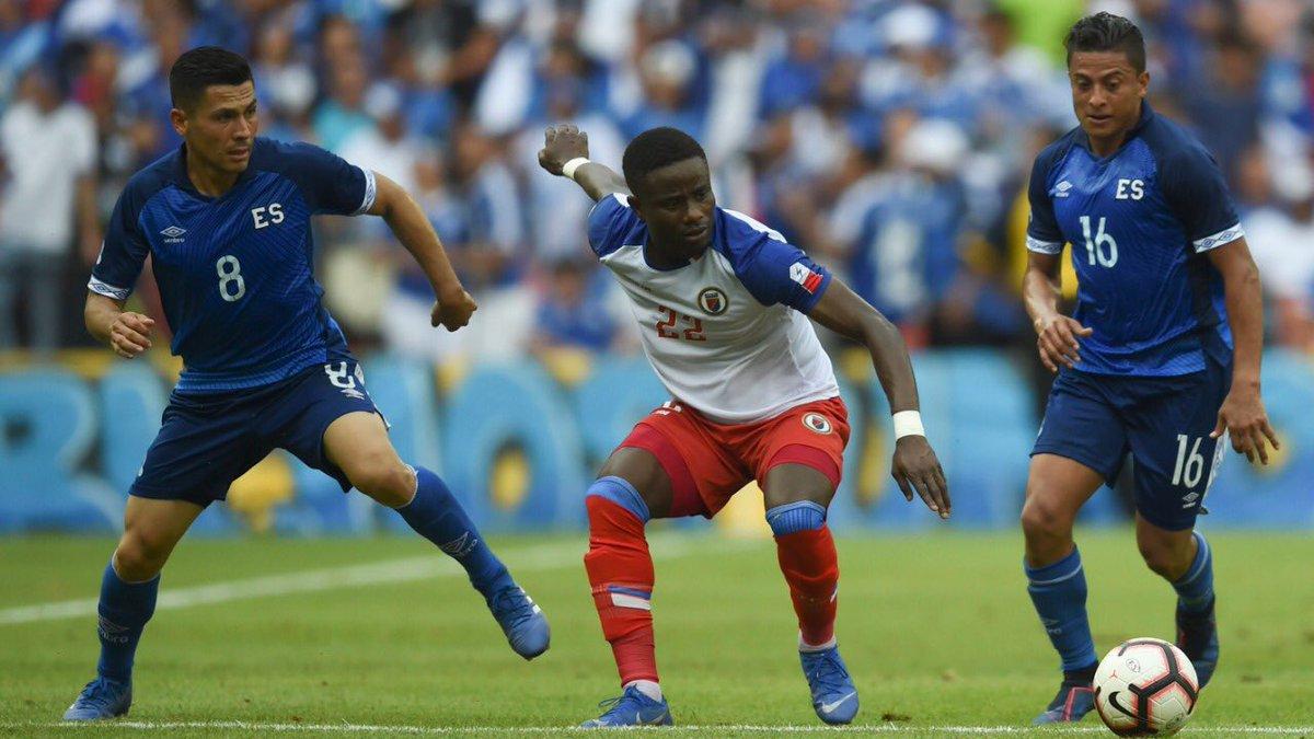 2-6-2019 - Amistoso El Salvador 1 Haiti 0. D8F43HTWsAAk04b