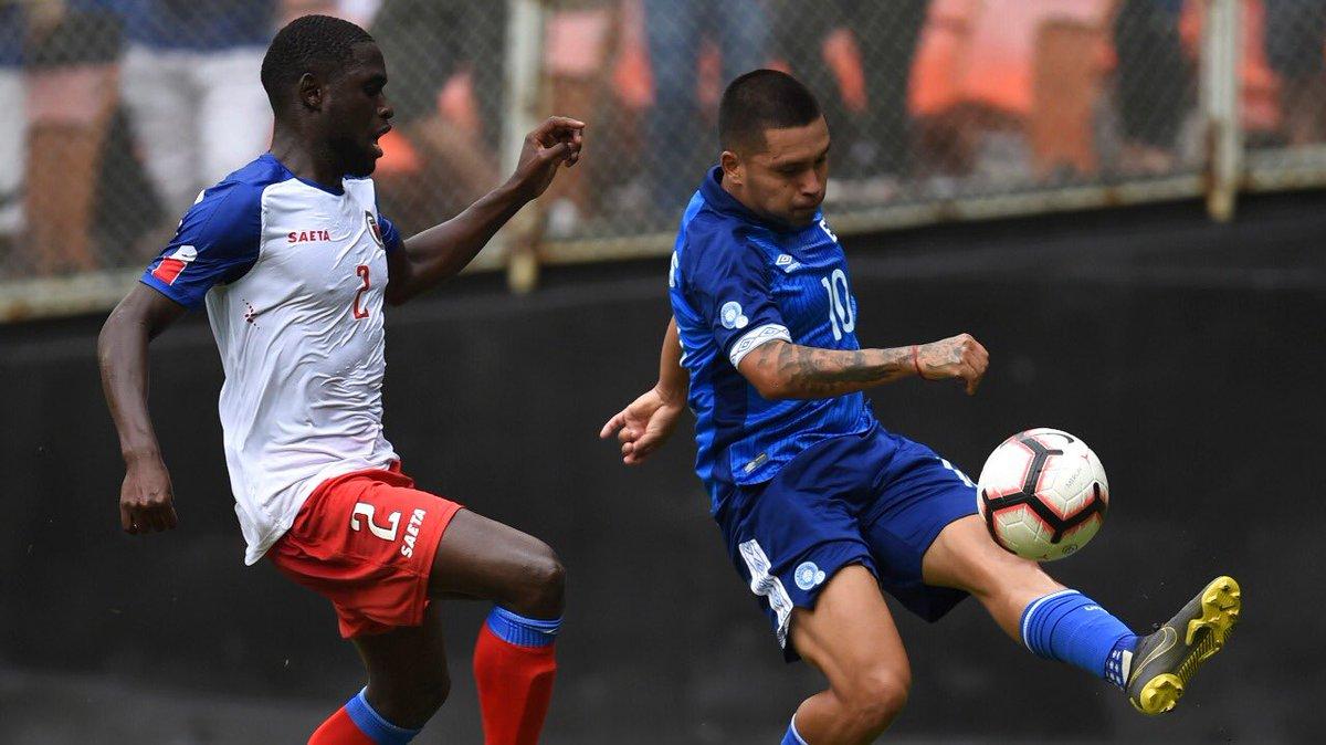 2-6-2019 - Amistoso El Salvador 1 Haiti 0. D8F43HdWkAAgcDz