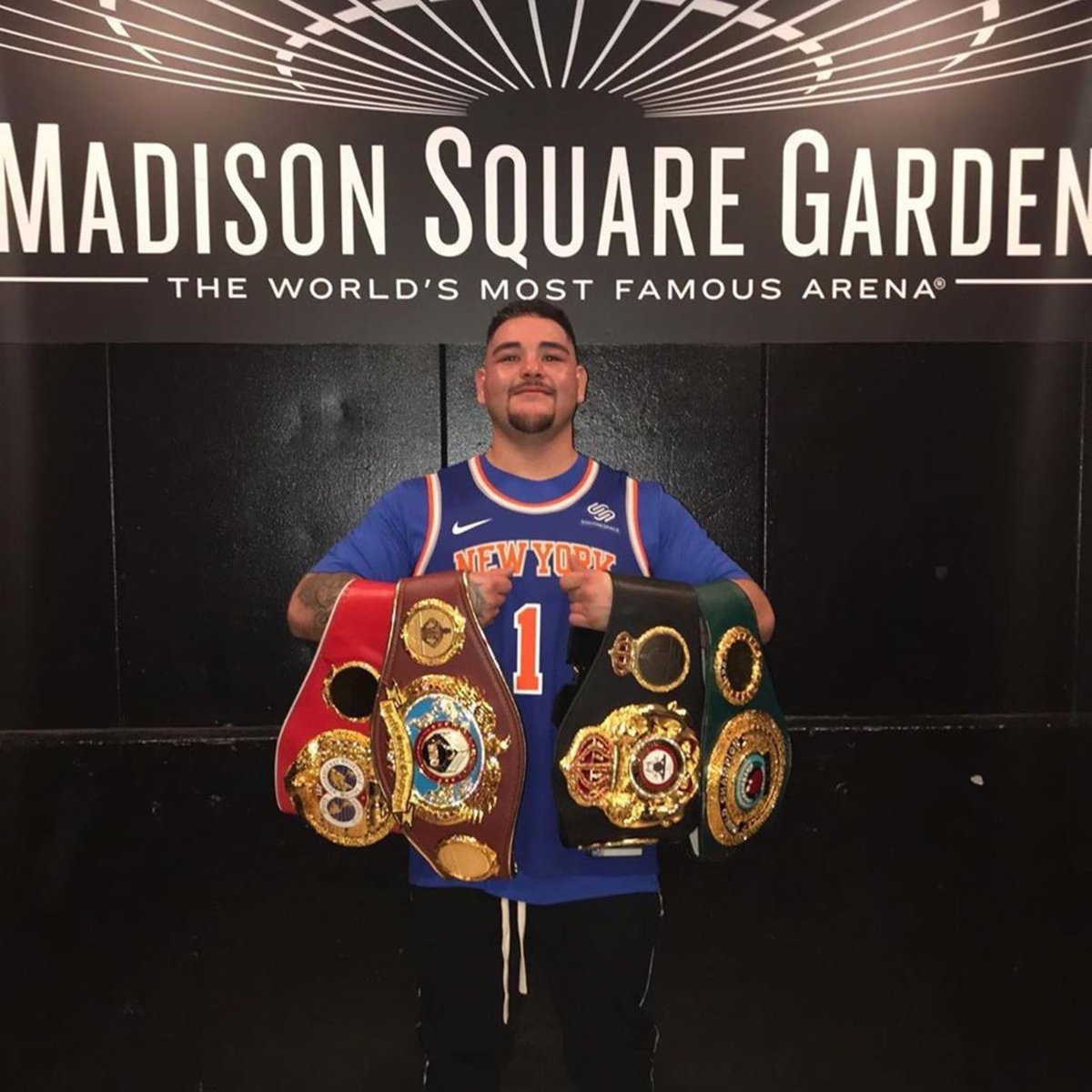 A huge congratulations to you @Andy_destroyer1 for your upset win last night. You've been blessed to come out of the struggle and to become the 1st Mexican Heavyweight Champion Ever!Wow, that's amazing and I'm wishing you many more blessings to come.
