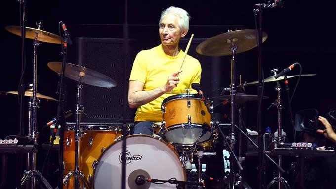 HAPPY 78th BIRTHDAY Charlie Watts Of The Rolling Stones Born June 2, 1941