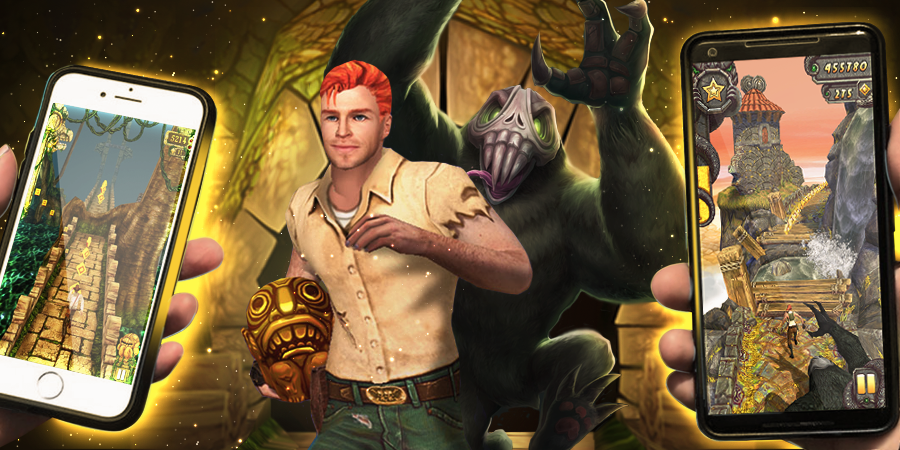 Temple Run 1 and 2, the classic game where it first started