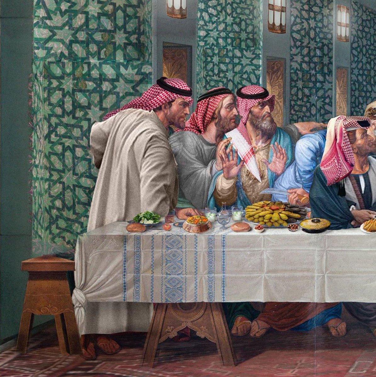 الفطور الاخير The Last Futoor  Work by Farah AlBastaki https://t.co/6UdBq54j98