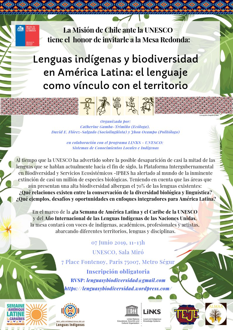Round Table La Mesa.Languagesbiodiversity Hashtag On Twitter