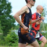 On the way to taking 2nd at today's Northwood Festival of sport duathlon and first test run of new bike and kit! @TORQfitness #TORQFuelled @gllsf