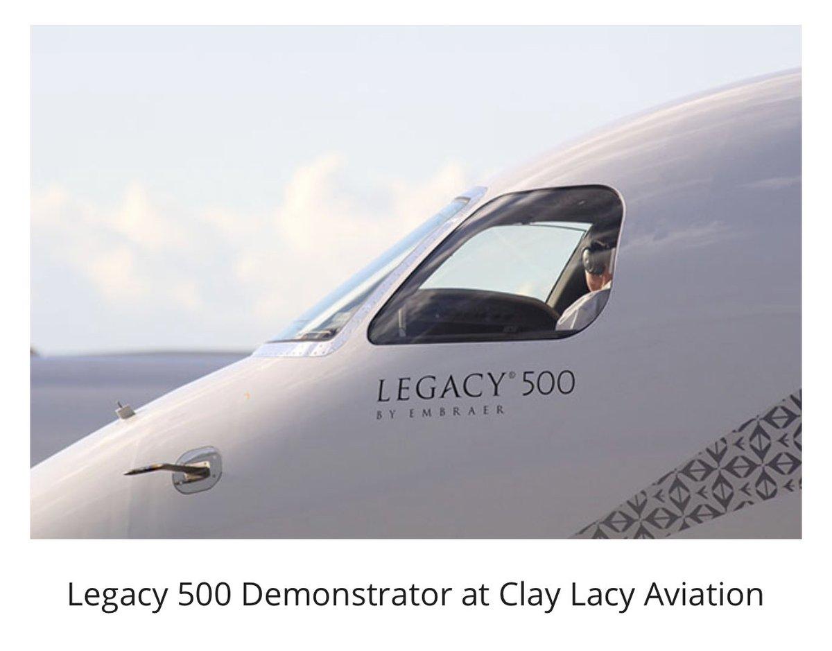 Pls to announce that @embraer will be displaying its award winning #legacy500 #bizav aircraft at #AsBAAtakesoff inaugural Regional Forum event on 14Jun at #SeletarAirport #Singapore @jetaviation @IBACBizAv1 @CorpJetInvestor @AINonline @govsingapore @SGX @bankofSG @ChangiAirport https://t.co/96aIND0CMS