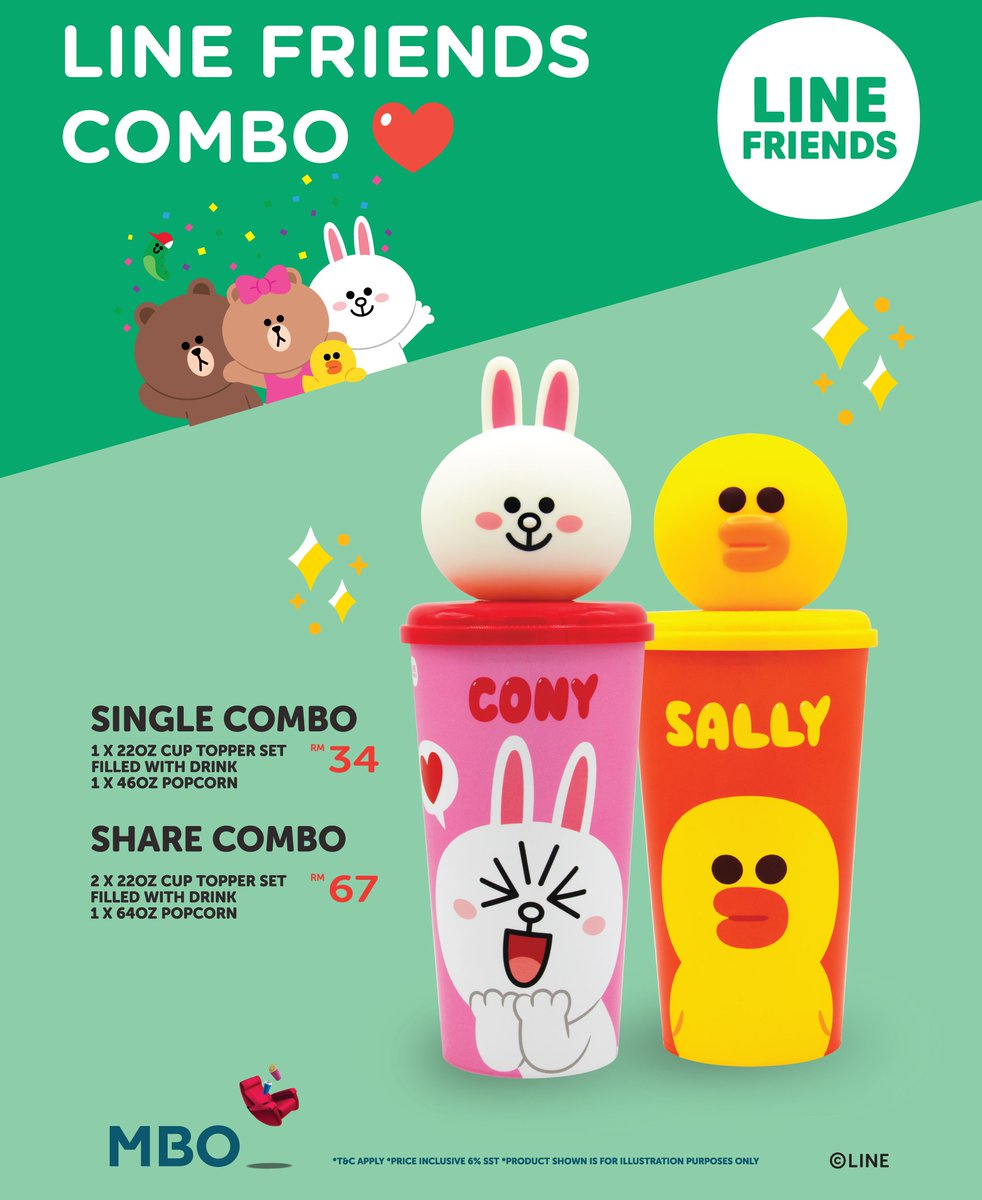 Linefriends Combo And Allstar Card Are Now Available At