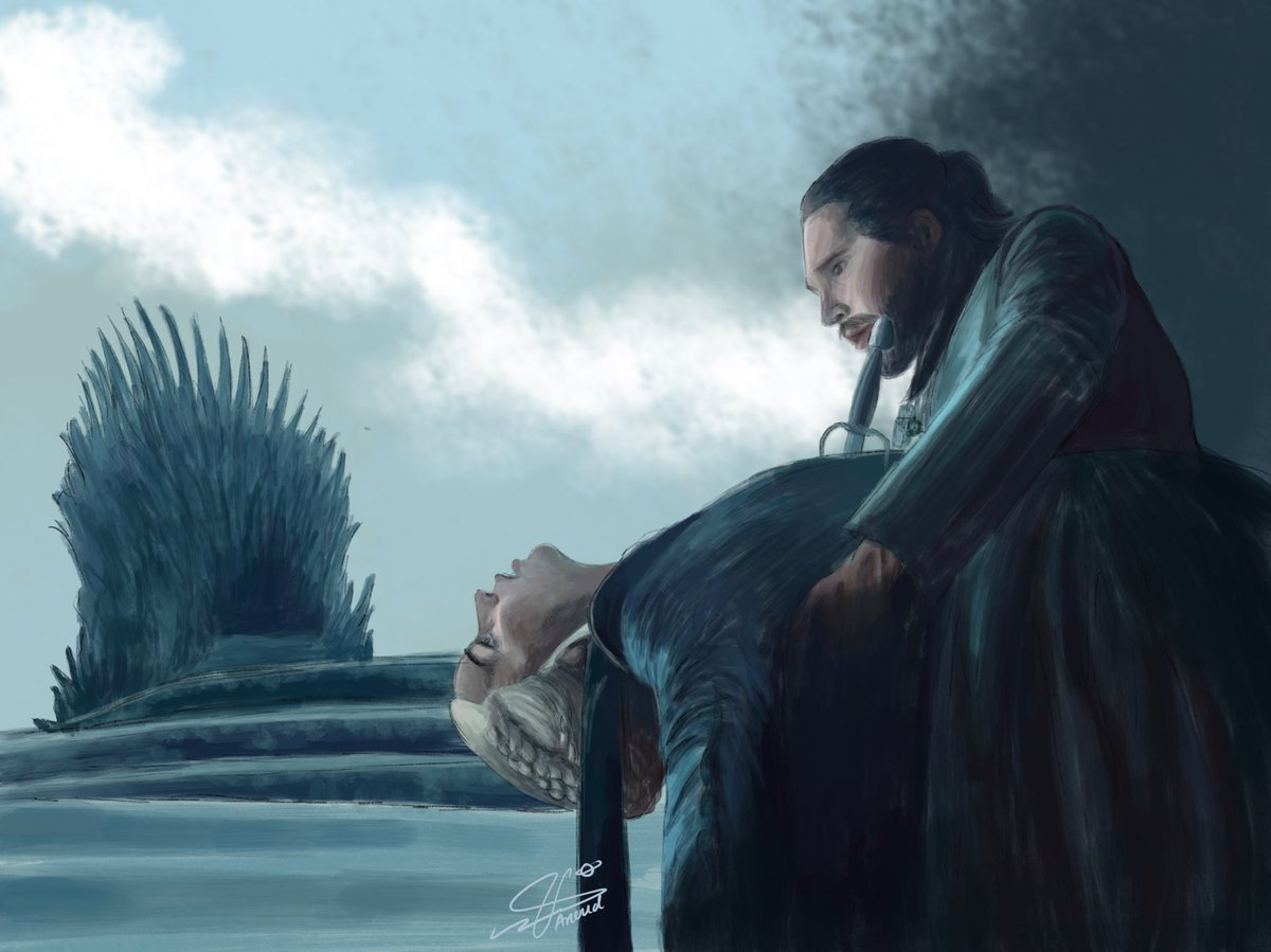 """""""Love is the death of Duty. But sometimes Duty is the death of Love.""""  #GameofThrones #got #GoTfinale <br>http://pic.twitter.com/ZwldNzub95"""