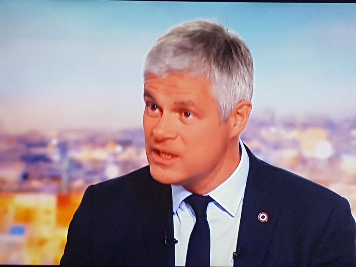 Breaking in France . Laurent Wauquiez the head of the Republican party is resigning  after the failure of his Party at the European elections. He is announcing it in the most watched evening news @TF1<br>http://pic.twitter.com/p9ZxZHqBqK