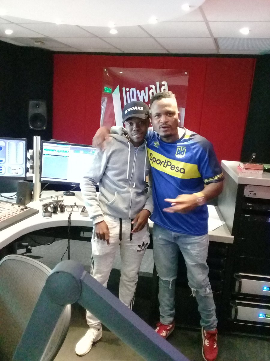 After our Interview @ligwalagwalaFM https://t.co/NdZqRpO0y9