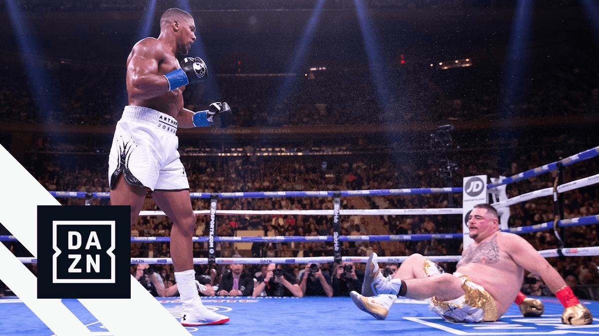 The 3rd round of Joshua vs. Ruiz was 𝙞𝙣𝙨𝙖𝙣𝙚 🤯