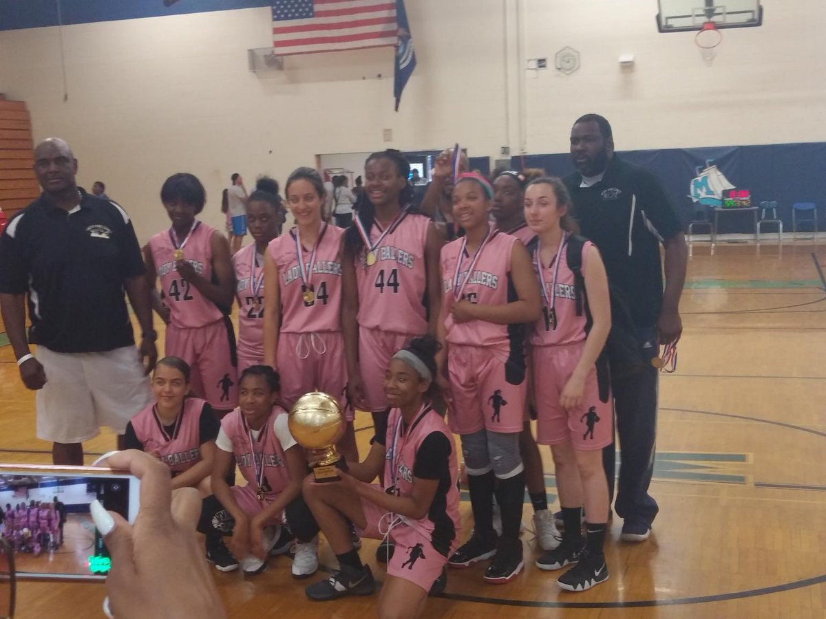 Our Lady Ballers keep collecting hardware with a championship at Mott's Summer Slam tournament.