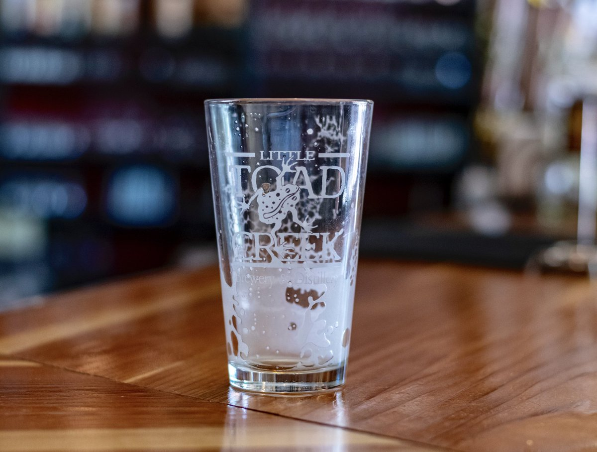 Uh oh! Who's ready for another round? . . . #nmcraftbeer #littletoadcreek #silvercitynm #emptyglass