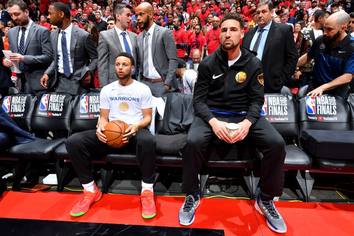 D8GSYFtUwAAr4OP - Warriors beat Raptors 109-104 to even NBA Finals By BRIAN MAHONEY | AP Basketbal - Basketball | NBA-PBA