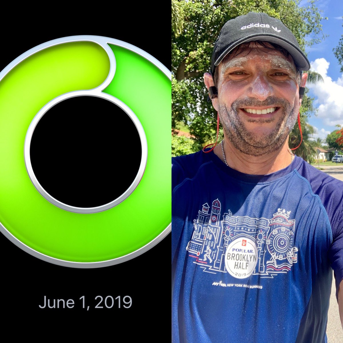 I ran outdoors for 3.40 MI with the Workout app on my #AppleWatch. #closeyourrings #popularbkhalf @nyrr