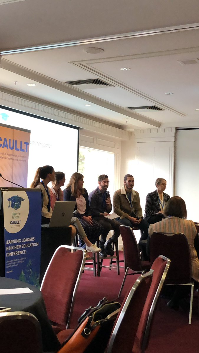 Highlight #2 from #learningleaders conference: Student leaders in learning and teaching speaking to the many ways students can lead at university.