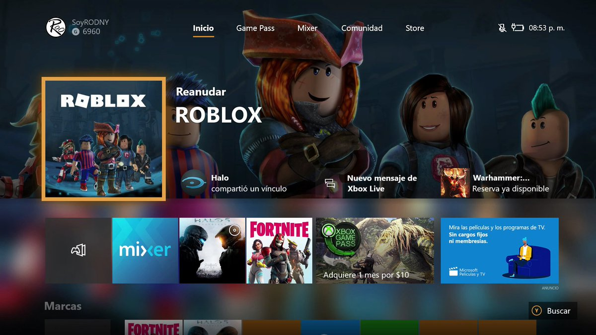 Rodny On Twitter Ojo Roblox En Xbox One
