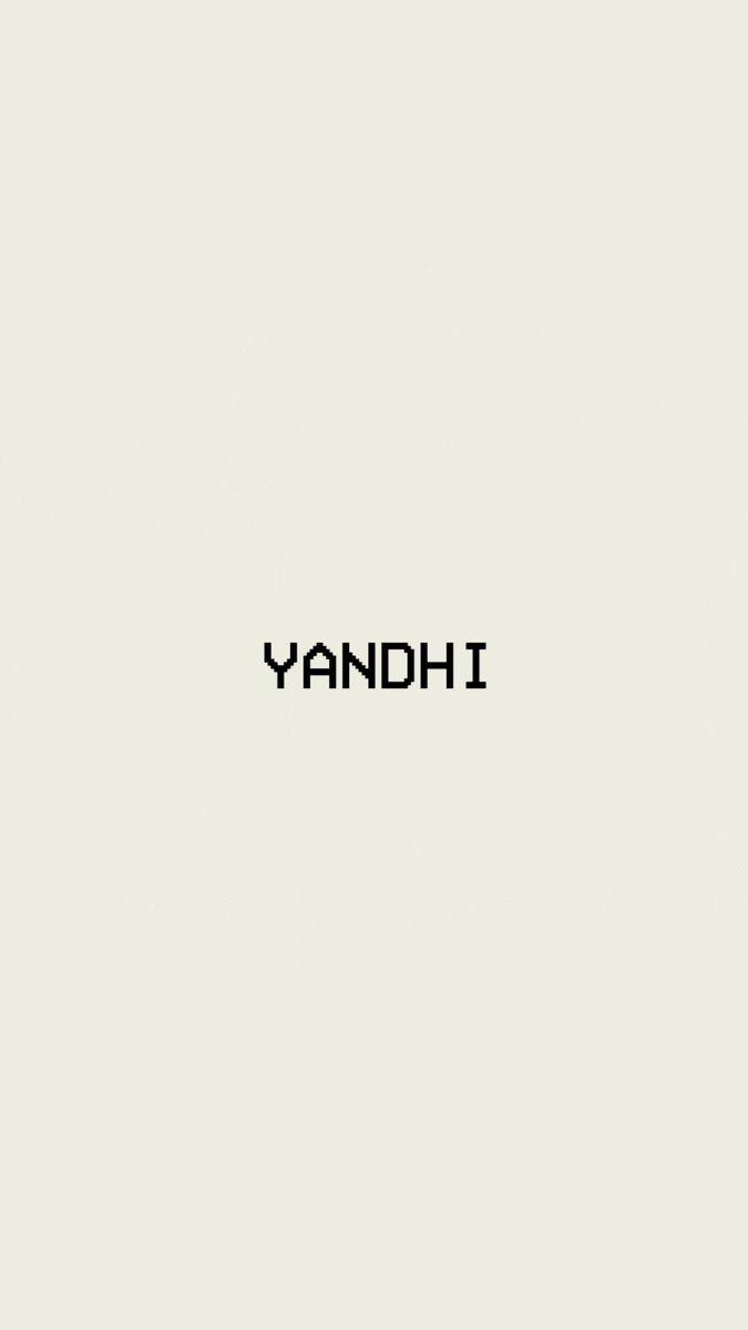 yandhi hashtag on Twitter