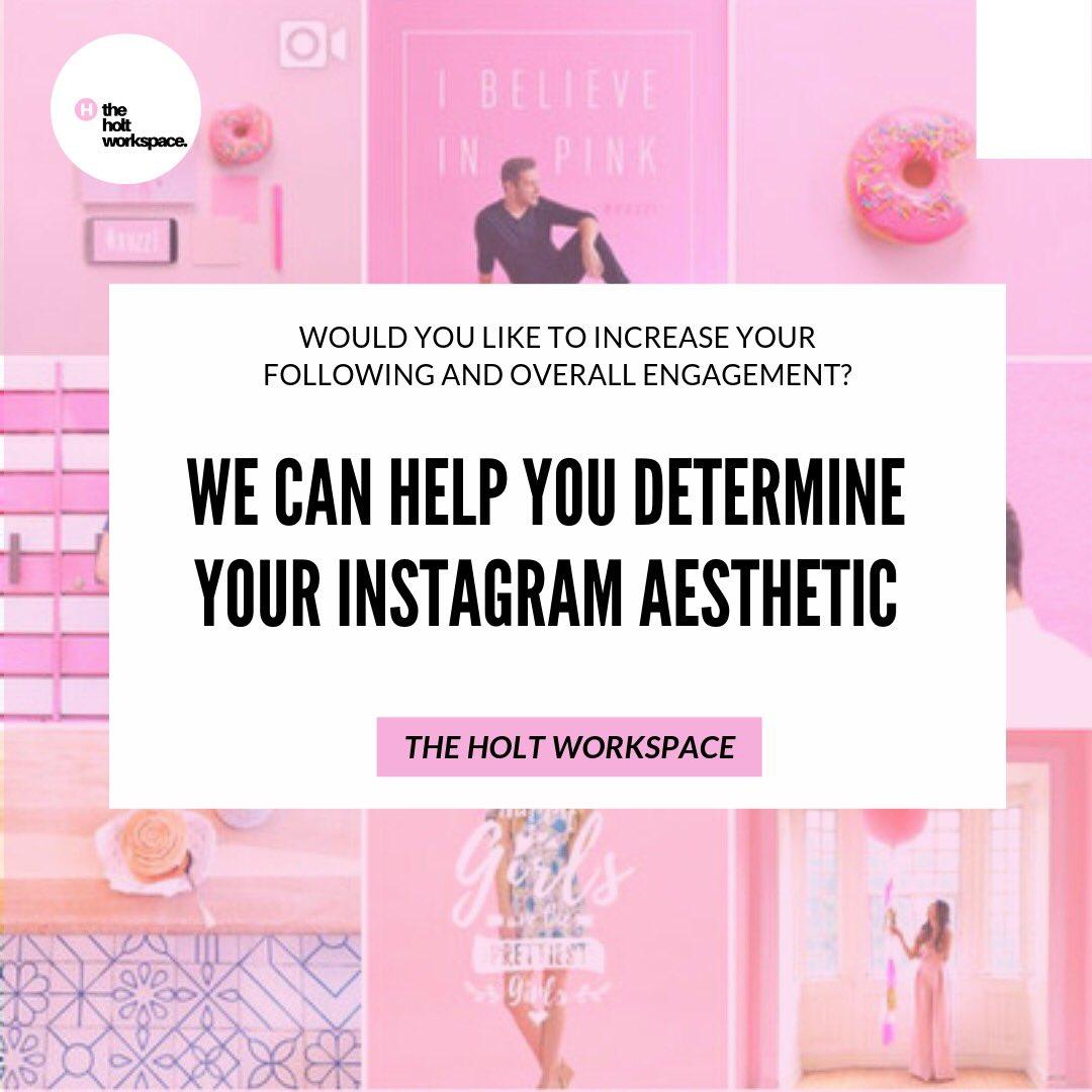 We can help you determine your Instagram aesthetic! 📱✨ https://bit.ly/2WigNVd   #socialmediamarketing #socialmediaagency #instagram #aesthetic #branding #marketingagency #branding #career #communications #girlboss #girlceo #careeradvice #jobs