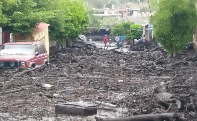 Deslave en San Gabriel