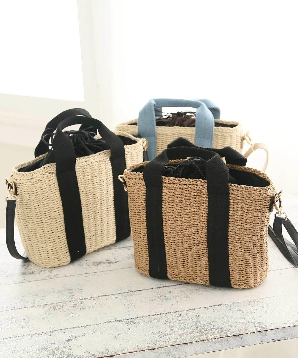 ペーパー素材で編み上げた軽い仕上がりのミニトートバッグです。長財布もすっぽり入るサイズ感。ショルダーの部分は、長さ調節や取り外しが可能です。ちょっとしたお買い物などお出掛けの際やサブバッグとしてもおすすめです。 #かごバッグ #アフタヌーンティーリビング https://twd.ac/2Qihkjtpic.twitter.com/LQiQDGXdMZ