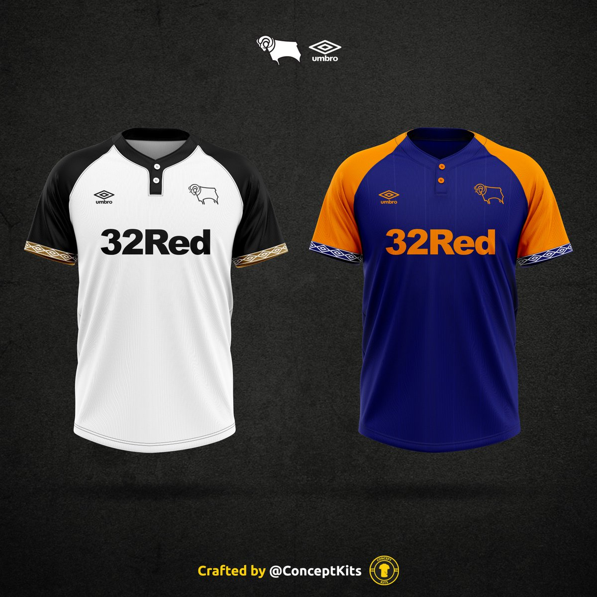 Concept Kits On Twitter Derby County Football Club Home And Away Kit Concepts For The 2019 20 Season Dcfc Derby Rams Derbycounty Umbro Pridepark Therams Kitdesign Conceptkits Https T Co Ycs20tppm6