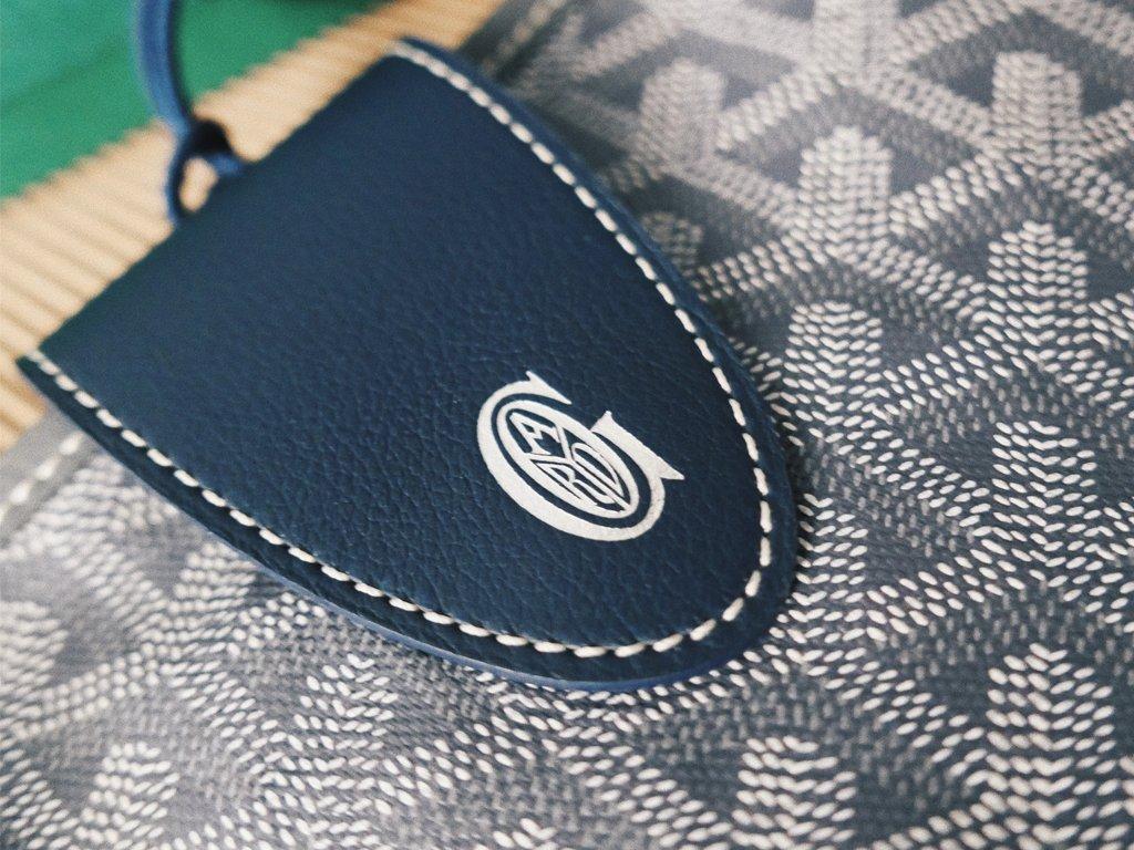 9f641150a #obsessionoftheday @Goyard Leather Bag Clip https://bagaholicboy.com/2019