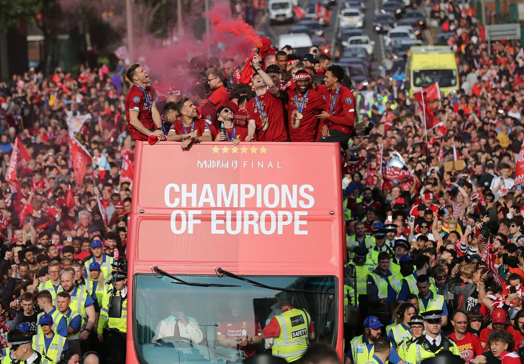 Police estimated more than 750,000 fans turned out for Liverpool's #UCL victory parade.  ➡️ https://bbc.in/2Z6kbiz