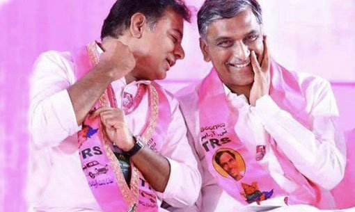 KTR wishes Harish Rao    https://www andhrajyothy com