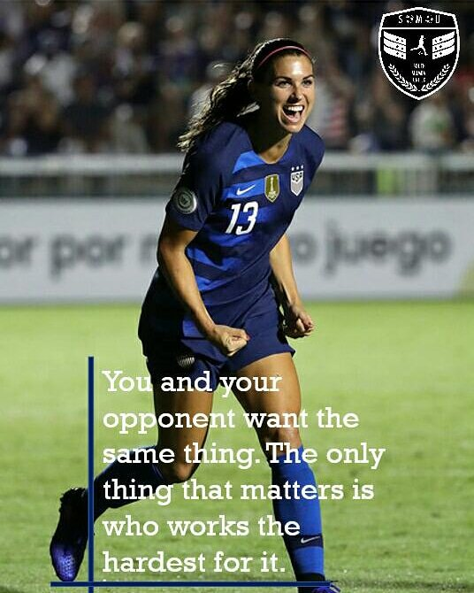 RT @FC_SMU: #MondayMotivation #SMU #AlexMorgan #USWnt #Women'sWorldCup #ShePower #GirlsFootball #WeWillFight https://t.co/MScykUbp6L