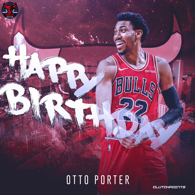 Join Bulls Nation in wishing Otto Porter Jr. a happy 26th birthday!