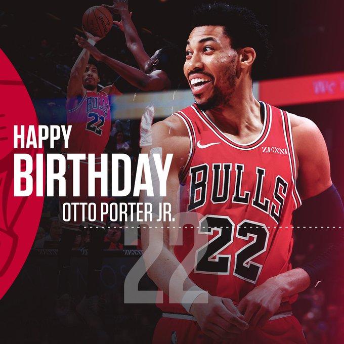 HAPPY BIRTHDAY, Otto Porter Jr.   help us wish a Happy Birthday!