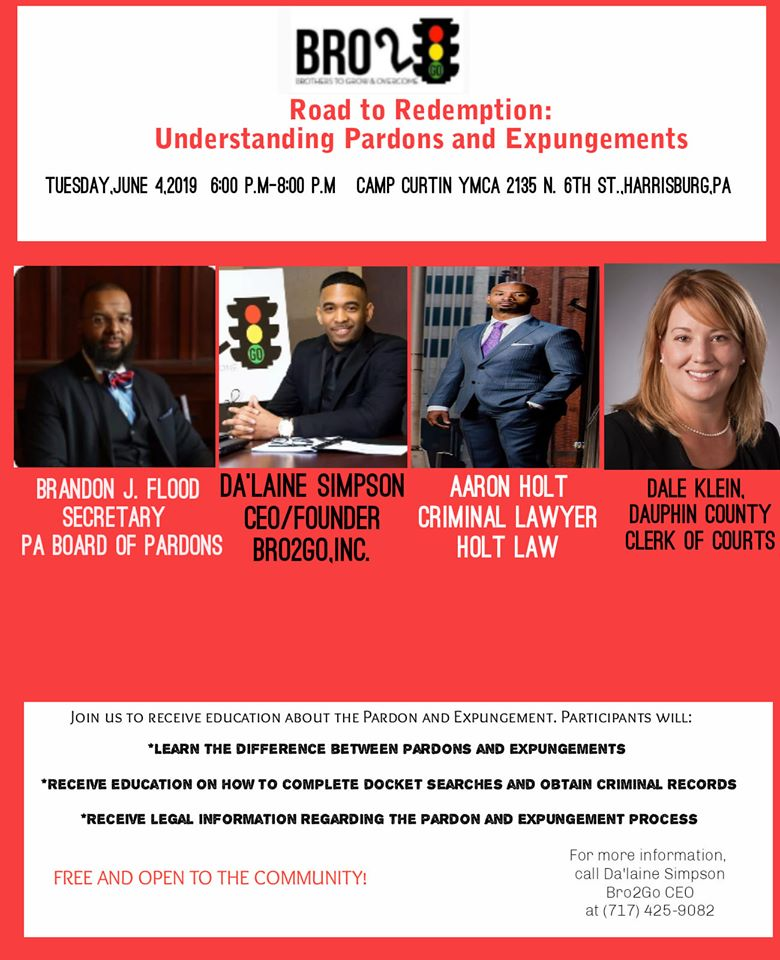 Happening Tuesday evening: Understanding Pardons and Expungements