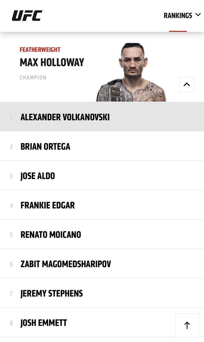 Just in case you forgot!! 👀 #1 @ufc