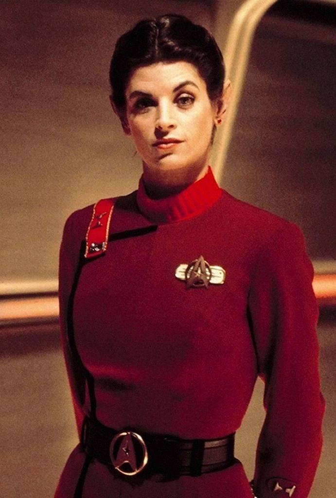 "Cristian Milla on Twitter: ""Kirstie Alley as Saavik in Star Trek II: The  Wrath of Khan (1982).… """