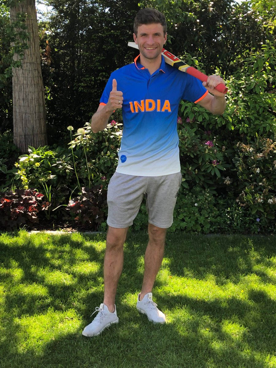 ICC World Cup 2019: Virat Kohli Thanks Thomas Muller After The Latter Wishes India Luck 1