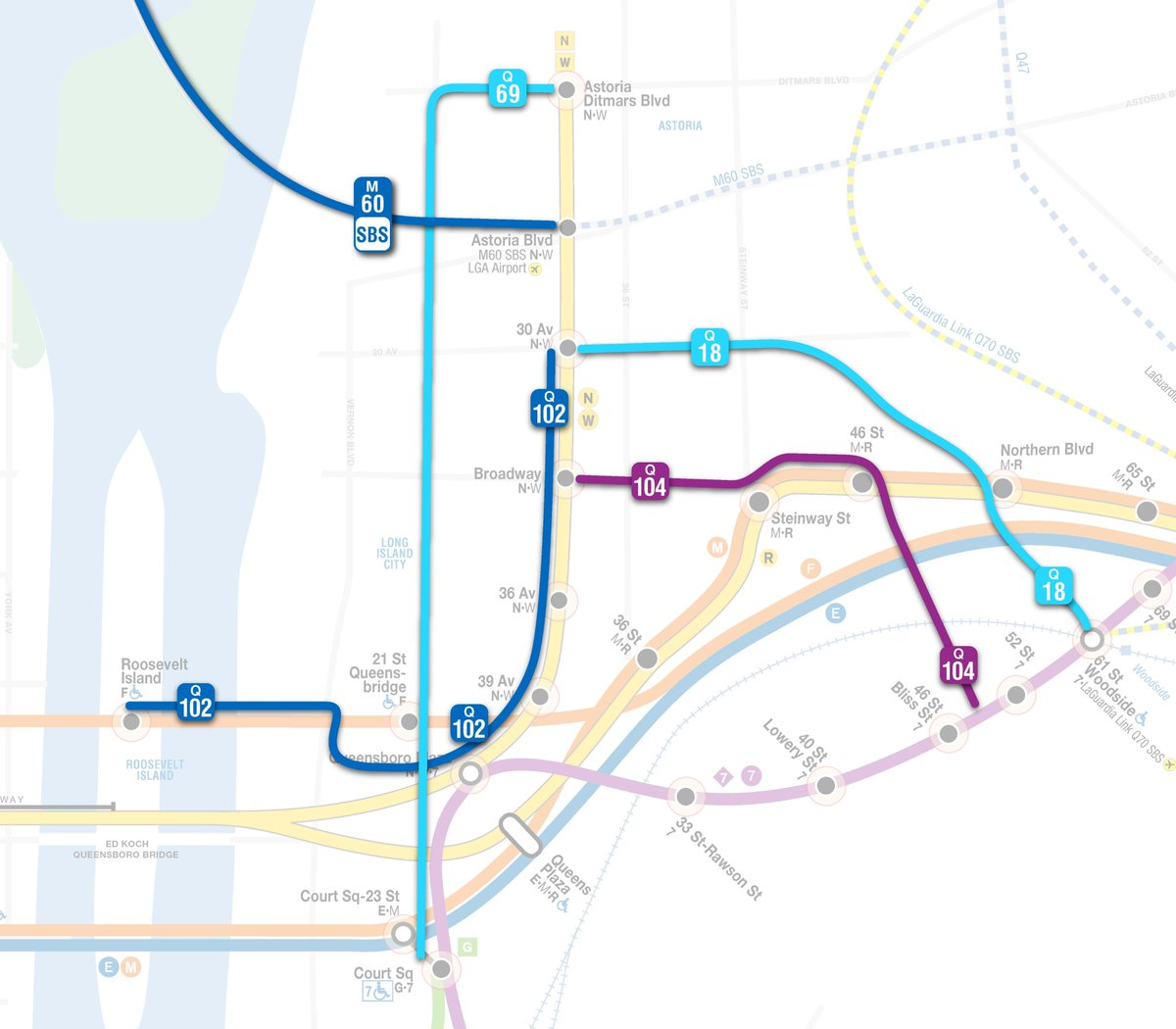 Astoria Subway Map.Nyct Subway On Twitter If You Re In Astoria And Headed Towards