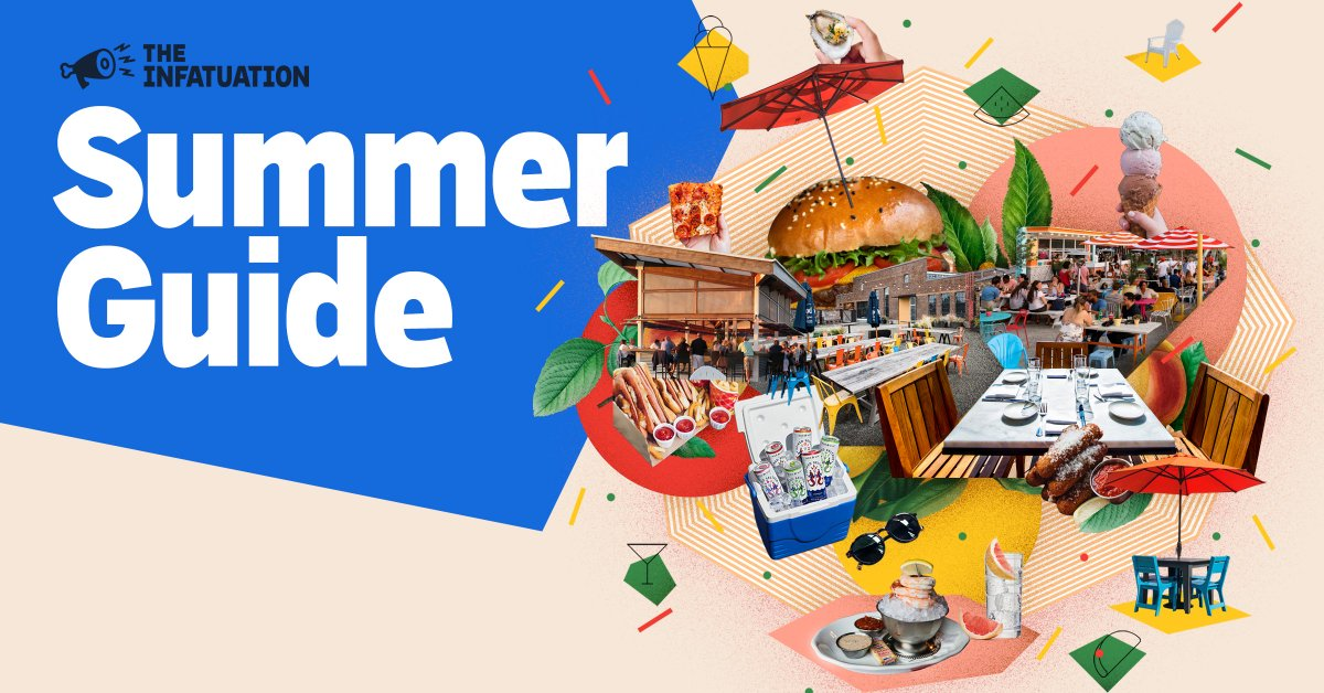 Our Summer Guide has the best places to eat, drink, and hang outside in seven cities. The only downside to having access to all these guides is realizing you can't be in seven places at once. #EEEEEATS