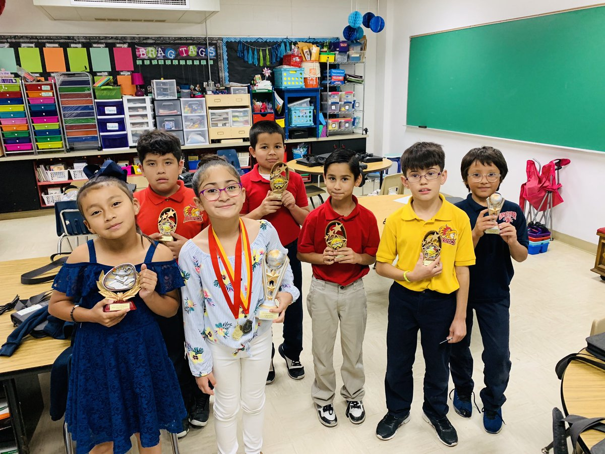Congrats! 1st & 3rd Grade award winners. You Are Aztec Strong!