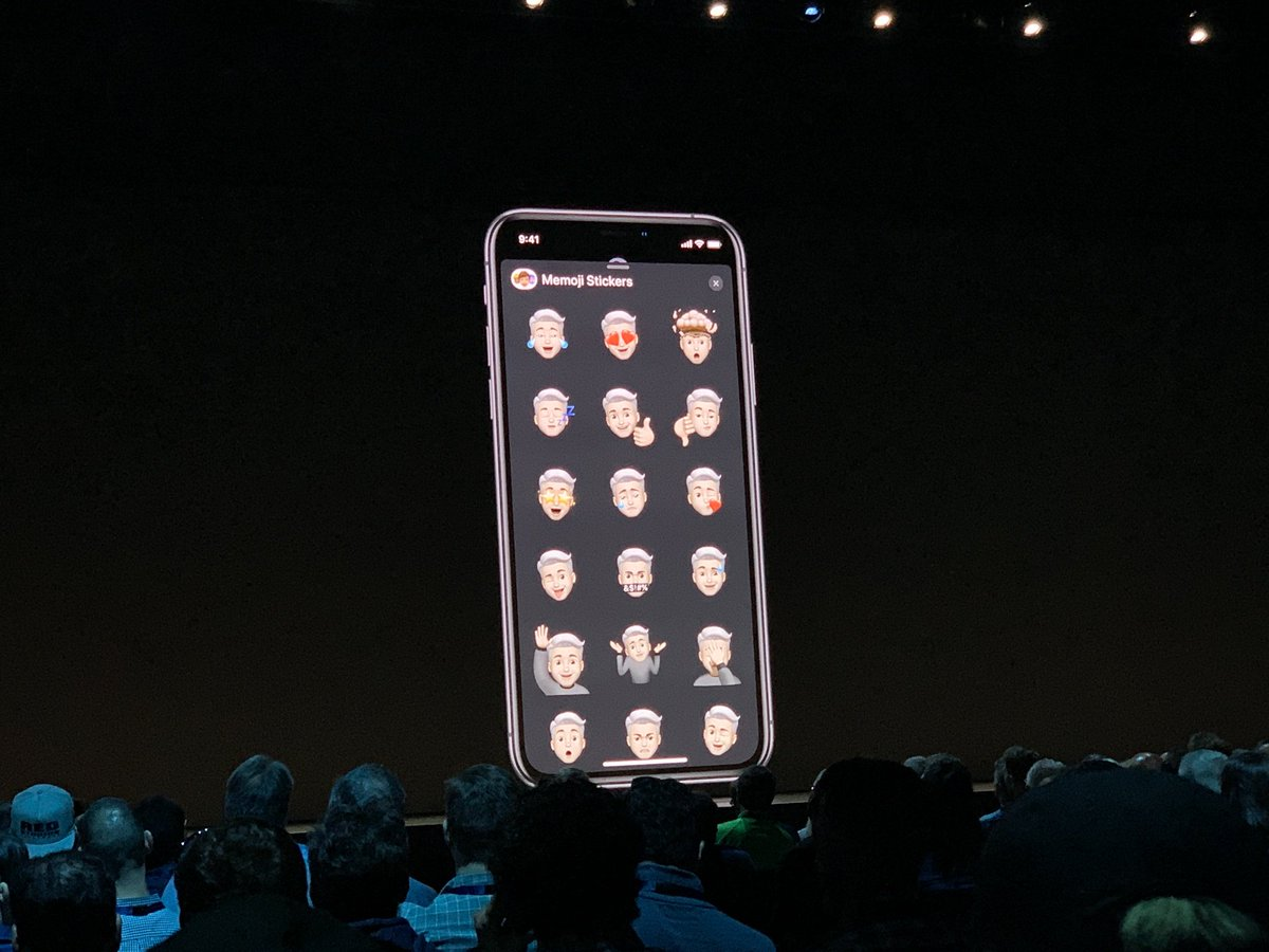 Interestingly, iOS13 will automatically create Memoji stickers for each of your Memojis!