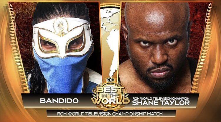 """ROH: Luchadores mexicanos en acción en """"Best in the World"""" 5"""