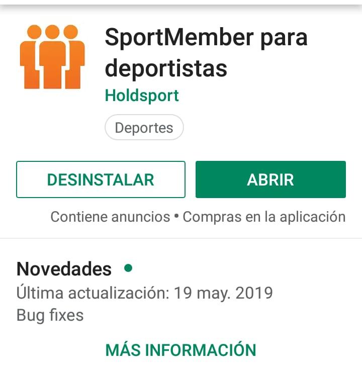 📢📢 IMPORTANTE 📢📢 ¡Para los que todavía estaban utilizando el #DominioEquiposport! EQUIPOSPORT HA SIDO ELIMINADO y por lo tanto ahora tienen que descargarse la #AppSportMember en Google Play o App Store. Inicien sesión con su nombre de usuario y contraseña.