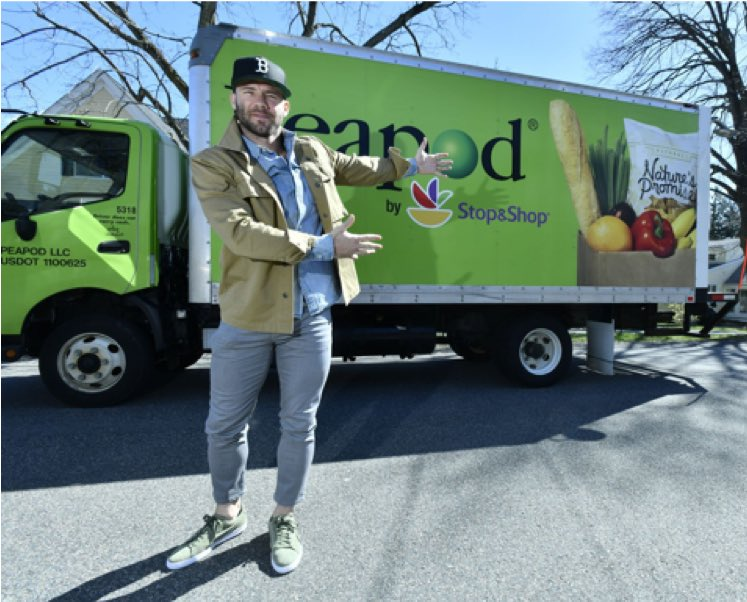 Pumped to team up with Peapod to help you get ready for those summer cookouts. I'll be making deliveries and signing autographs along the way this Friday, 6/7. Don't miss out, place an order today people!