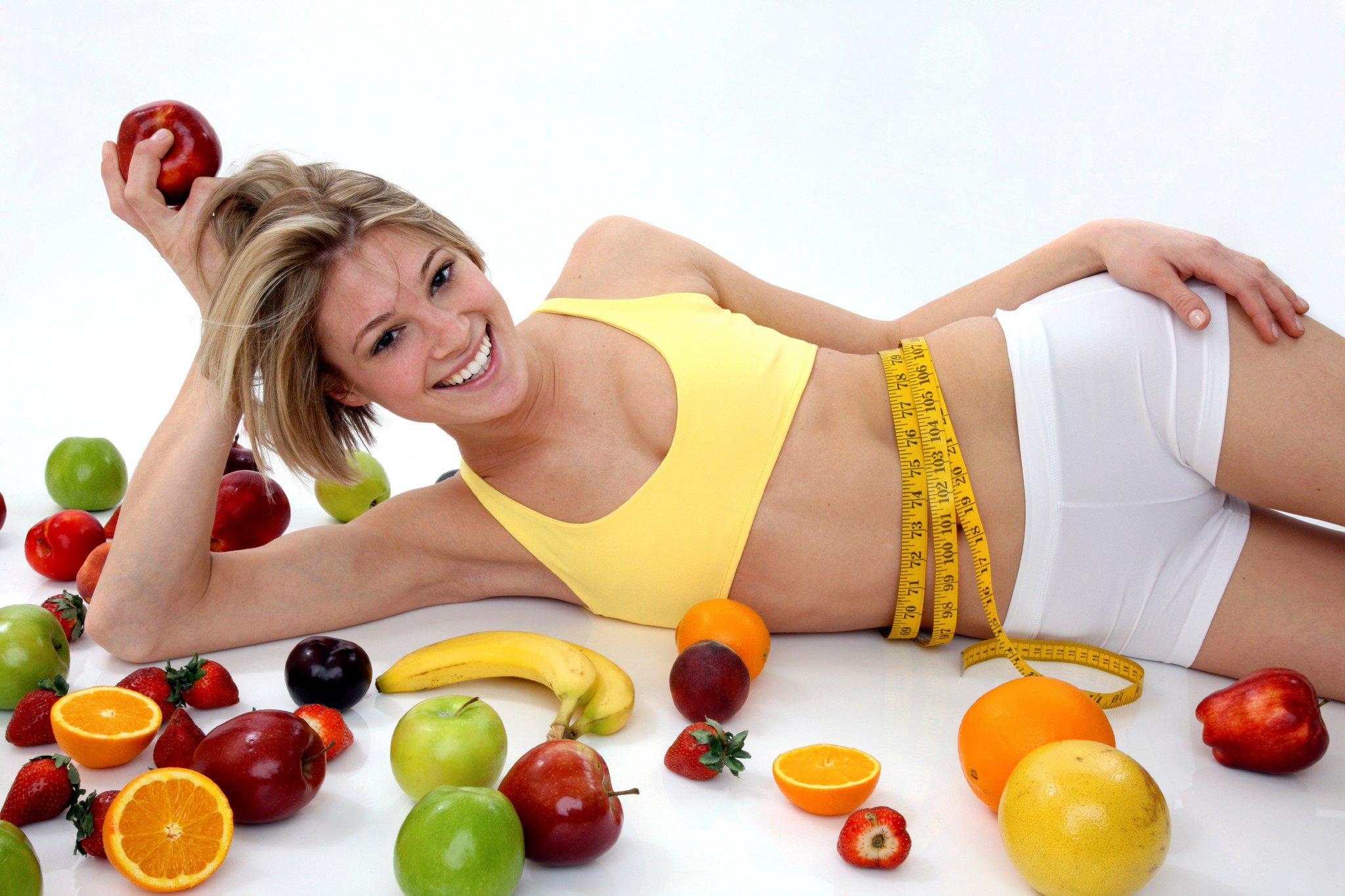 Как похудеть без диет на правильном питании